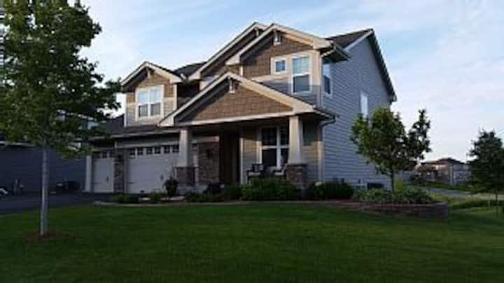 5 bedroom Ryder Cup House, Close to Chaska MN