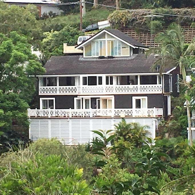 House view from Pittwater