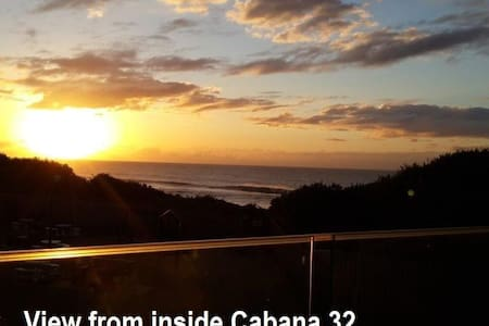 SeaView Cabanas: Ocean views & direct beach access - Kingsburgh - Huoneisto