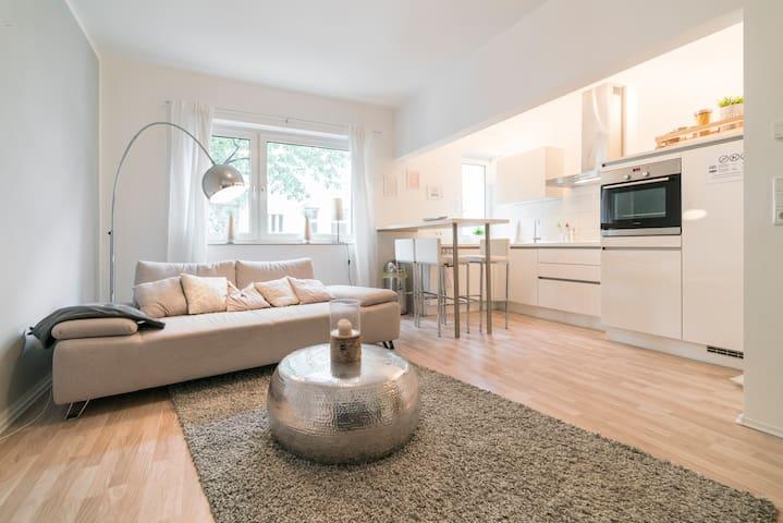 Pretty Apartment - located centrally & near a park - Düsseldorf - Apartamento