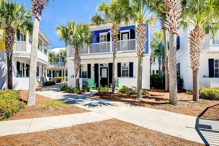 Bk4Christmas-Walk 2 Beach☀️Inspected & Disinfected☀️2BR Seagrove Bungalow 153