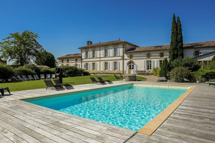 Bordeaux-Blaye-St-Emilion-Bourg-chambre d'hôte