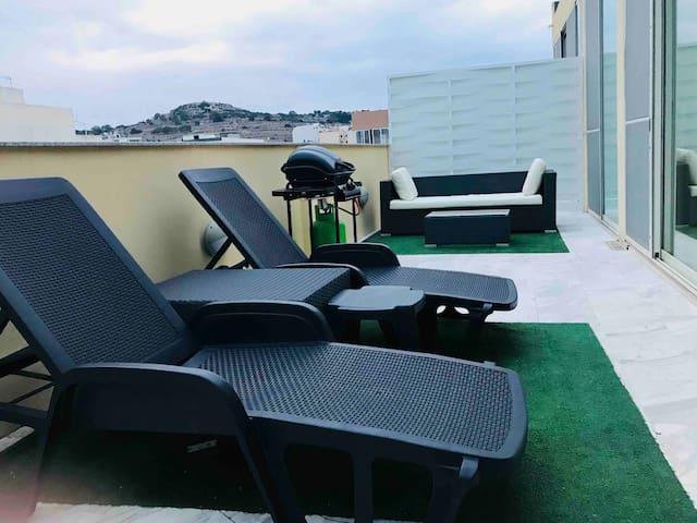 Luxury studio penthouse No.3
