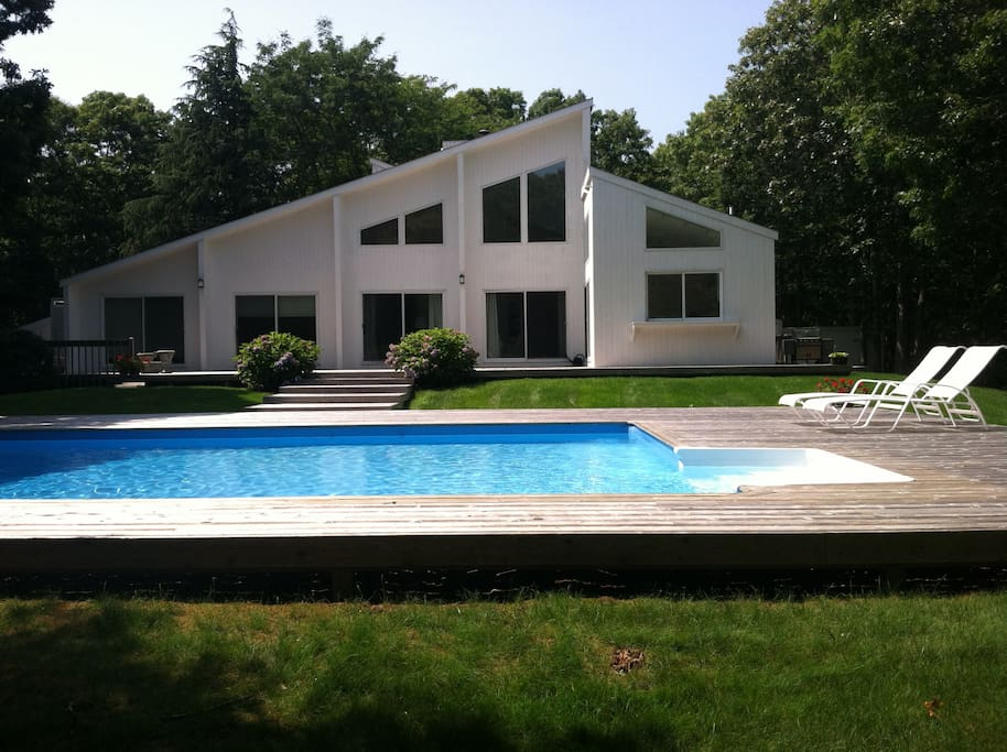 Secluded Easthampton Family Home Close To All Houses For Rent In East Hampton New York