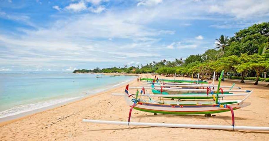 Nusa Dua beach walking distance! Fast to Airport#1