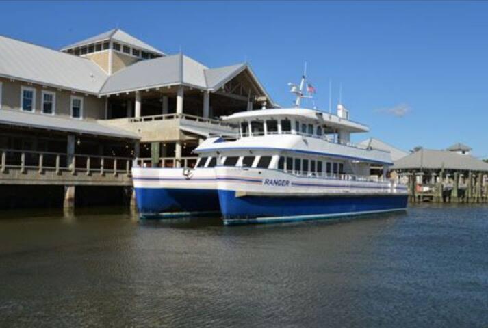 Take the Ferry to Bald Head Island