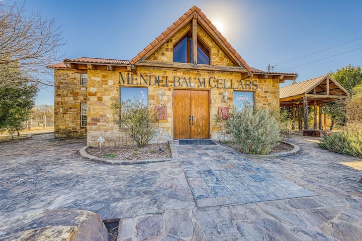 Gorgeous, multi-family getaway consisting of eight homes on a working winery!