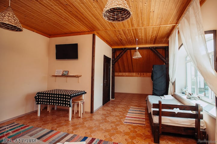 Farm stay Ruthenia Комната на 4-х
