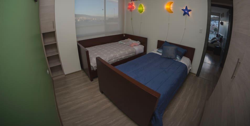 Segundo cuarto - Bedroom number two