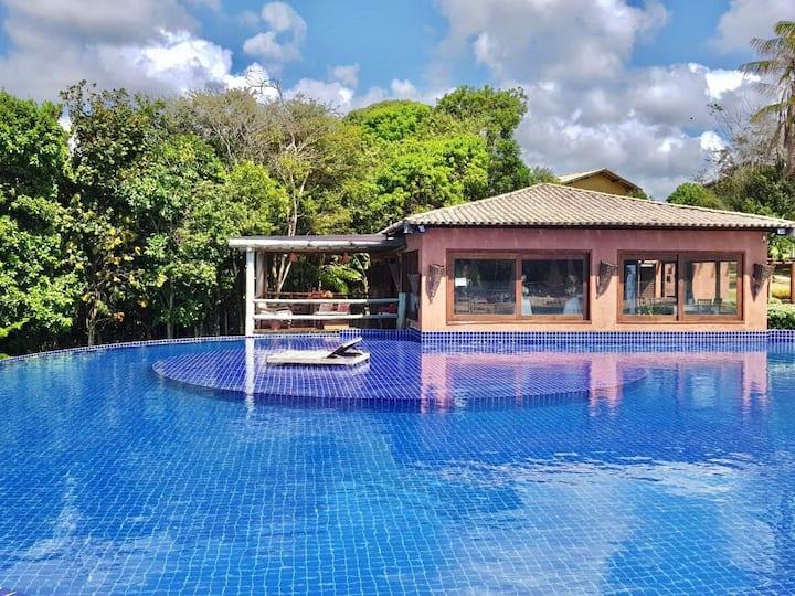 Resort/ villas pratagy. Local paradisíaco