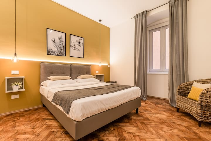Brand new guest room with Wi-Fi in the city center