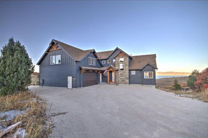 Amazing home overlooking beautiful bear lake!
