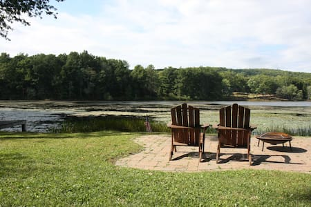 Peaceful & Private Lakefront Apartment - Apartment