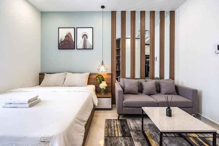 Rivergate - 高级公寓简单设计 luxury apartment studio
