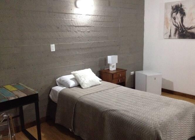 Habitación con baño en suite Udec