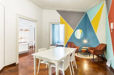 joy, colors, style & safety for your stay in Rome