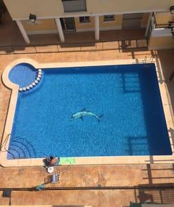 Apartamento bonitocon piscina a 8km de guardamar. - Formentera del Segura