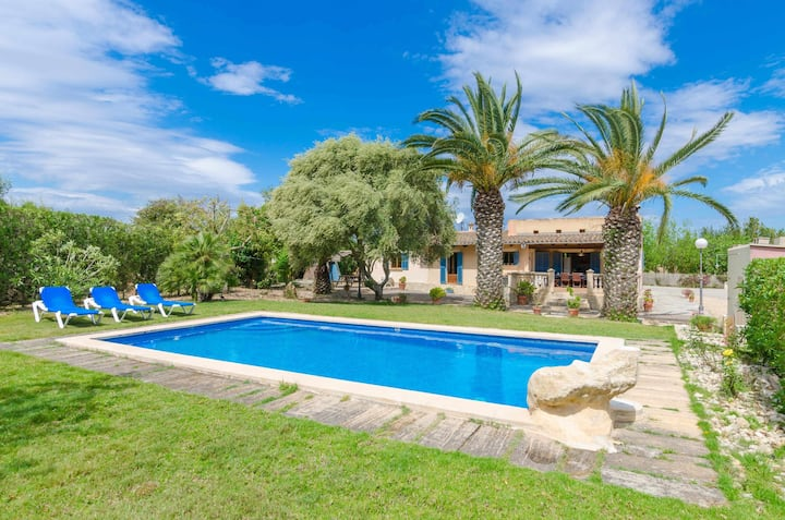 YourHouse Garballons - villa with private pool in Manacor