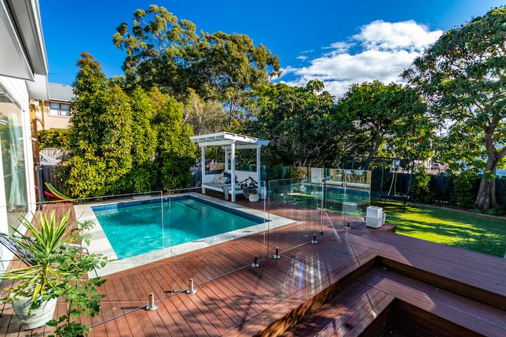 Great location, modern, with pool.