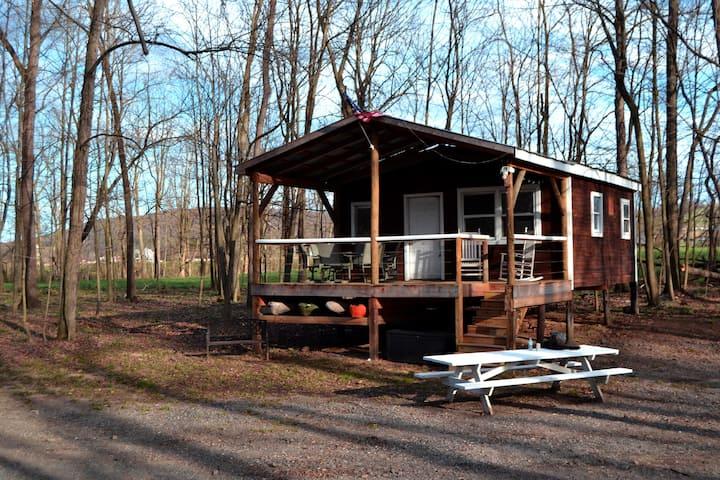 Penns Creek Off-Grid Cabin