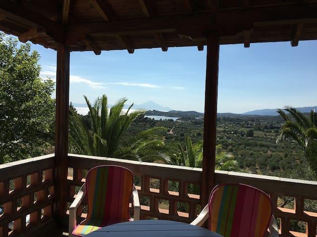 Big house with amazing view near Agios Nikolaos - Agios Nikolaos - Rumah