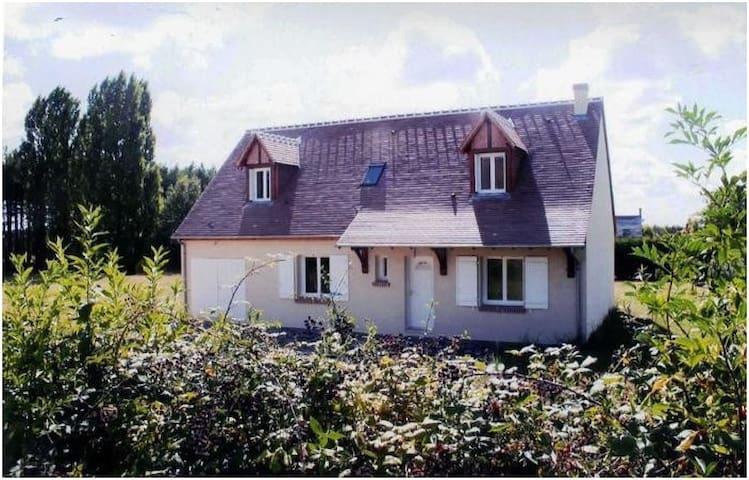 Charmante maison proche Chambord et châteaux - Dhuizon - Casa