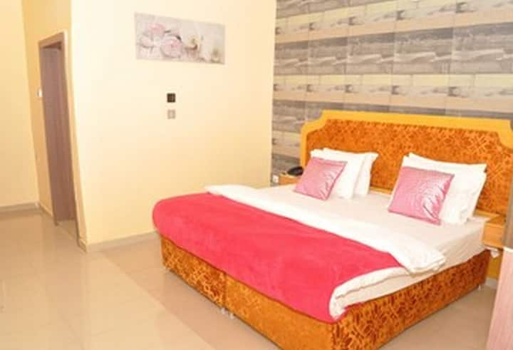 Ne-yo Hotel and Suites is a budget hotel in Asaba, Delta.