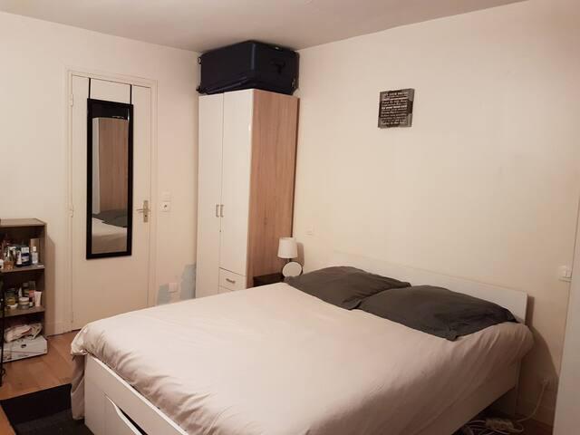 Great room & privatized bathroom. Downtown Paris