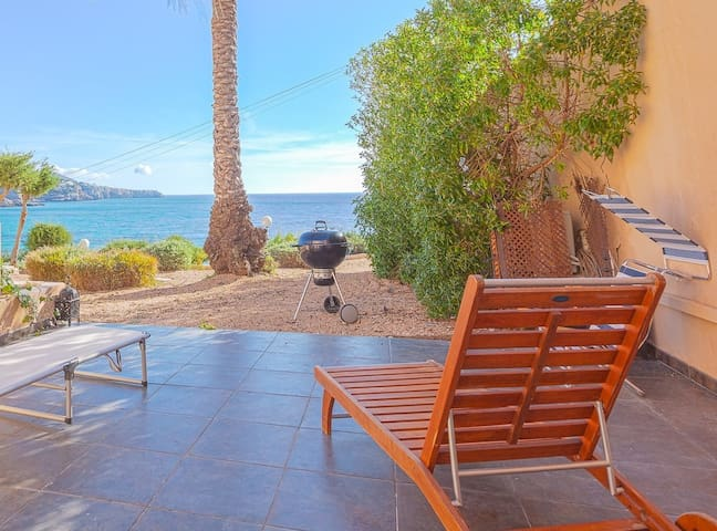 Sea View Home in Cala Tarida Ibiza ++ beach access - Sant Josep de sa Talaia - Apartemen