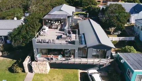 The Deep Blue Beach House
