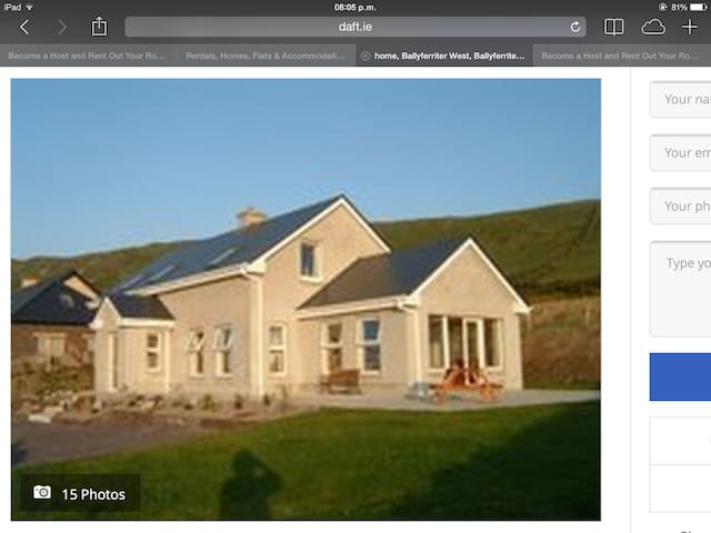 Modern dormer bungalow with stunning sea views - Tralee - Rumah