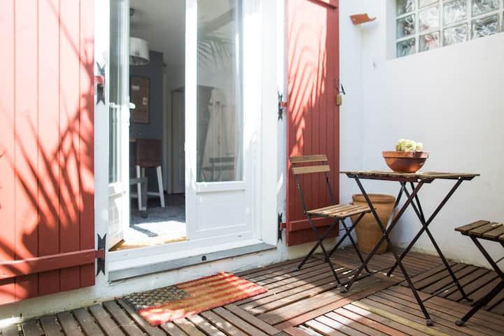 Charmant Studio en plein coeur de Biarritz