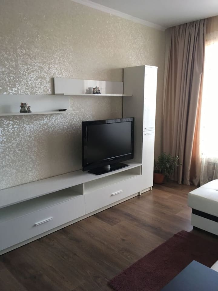Спальня с диванном - кровать