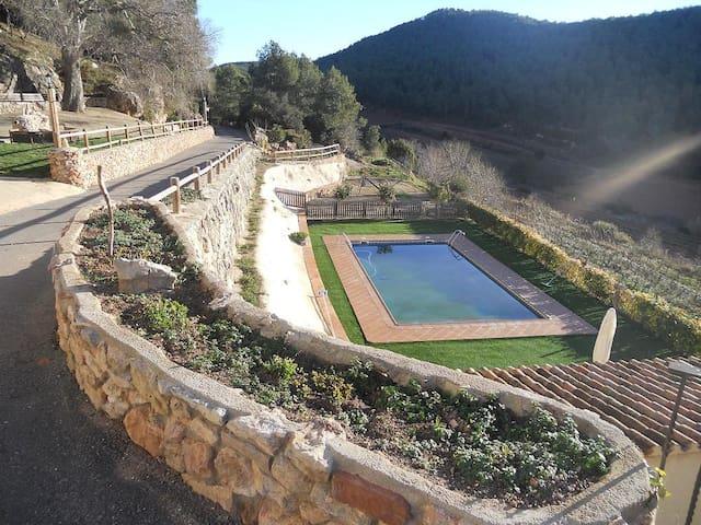 Masía  Catalana en prelitoral de tarragona