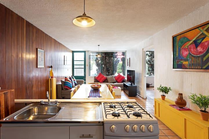 Cozy entire house in Roma Sur close to Condesa