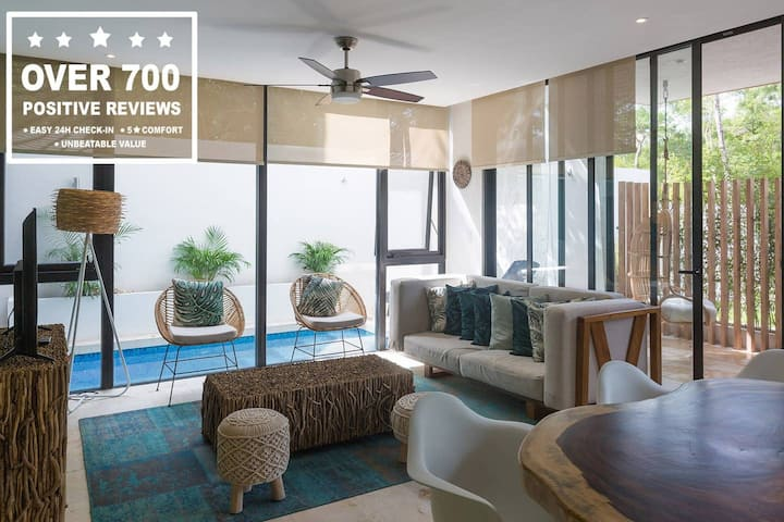 ☆ 1 Bed Opulance 6 ☆ Private Pool and Terrace
