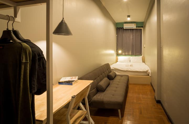 Mind day Hostel Khaosan Double Bed-Shared Bathroom