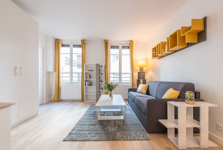 Lovely renovated studio in the heart of Paris