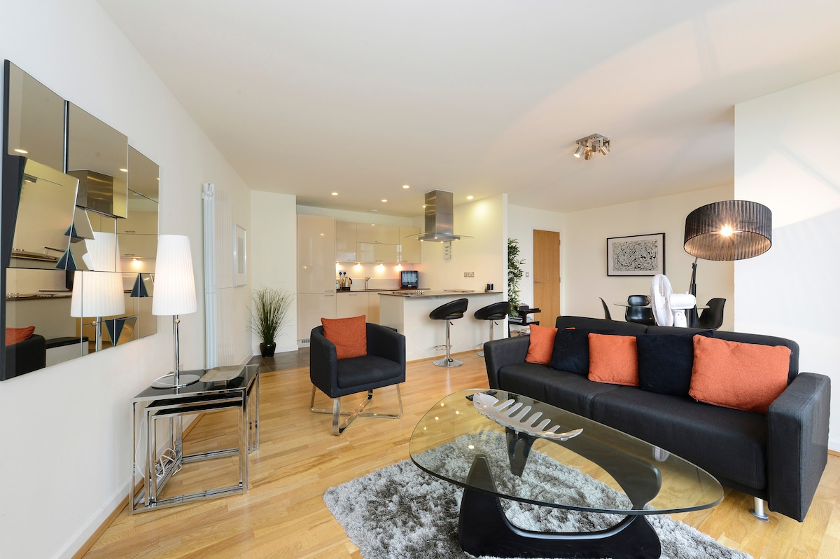 Luxury one-bedroom apartment near the Thames - Flats for Rent in ...