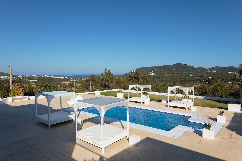 amazing villa privacy and sea view villas for rent in ibiza