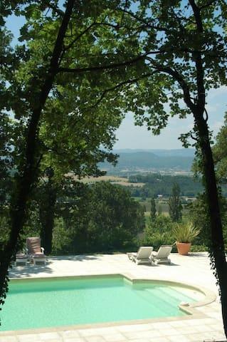 Le Loft, gite au Chateau de Fontblachere - Saint-Lager-Bressac - Apartamento