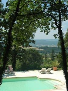 Le Loft, gite au Chateau de Fontblachere - Saint-Lager-Bressac