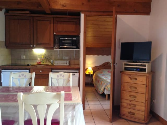 LES HOUCHES - 4 pers, 20 m2, 2/1