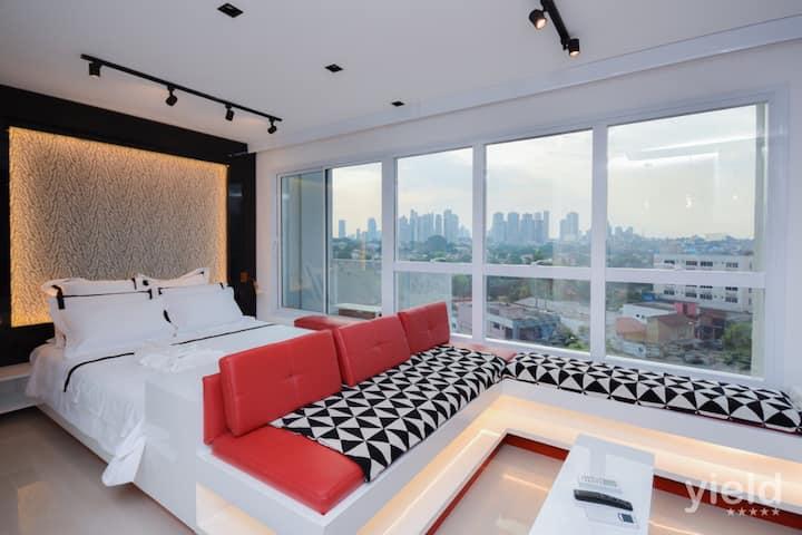 #501O# Compacto de luxo no Ed: Metropolitan Sidney