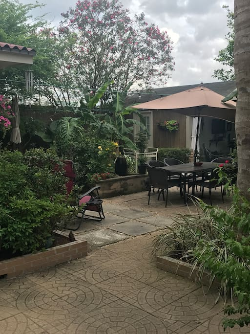 Main patio area for your enjoyment!