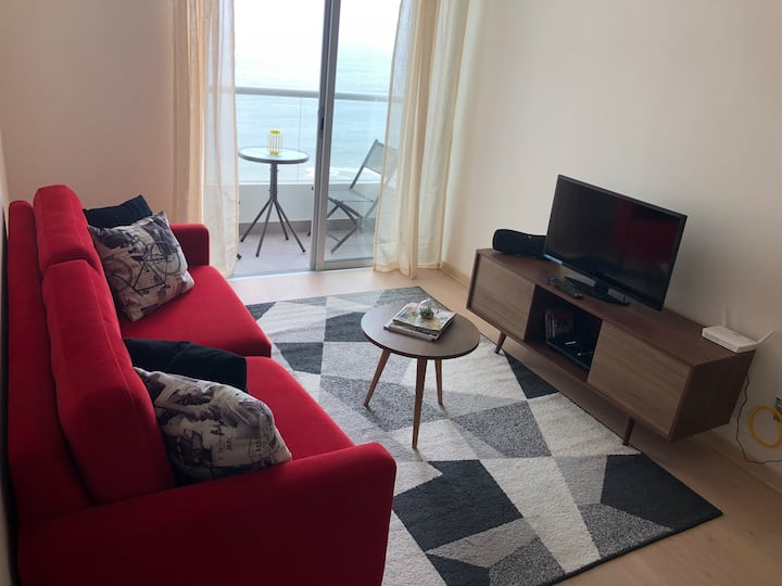 Ocean View apartment near airport and miraflores.