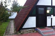 Ferienhaus Nurdachhaus Ganzjährig 70iger Charakter