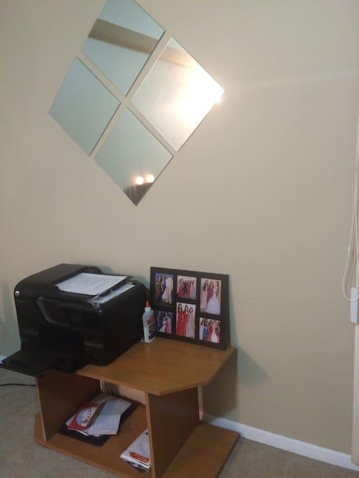 Book shelf (printer not included)