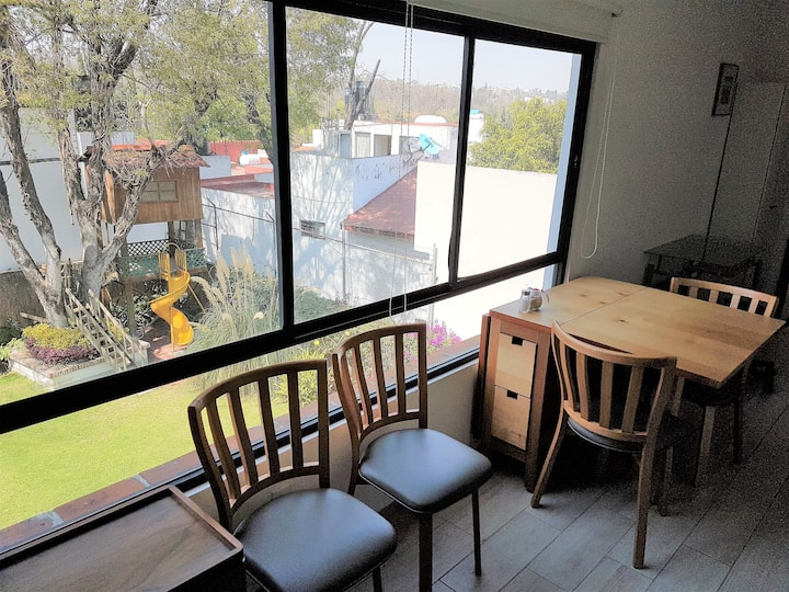 Unbeatable location in San Angel