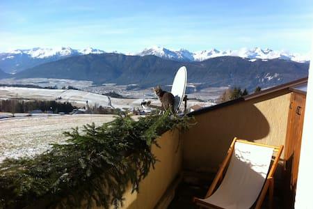 Soggiorno Alta Val di Non con splendido panorama